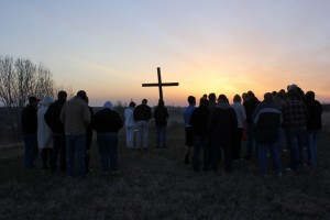 Easter Sunrise Service at the Cross